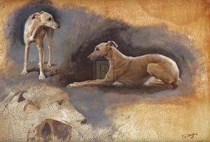 Whippets by Susan Crawford