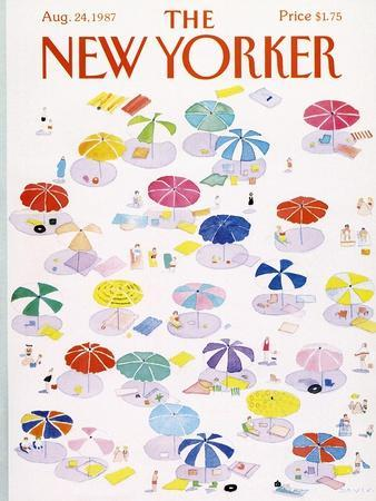 The New Yorker Cover - August 24, 1987