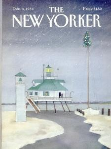 The New Yorker Cover - December 3, 1984 by Susan Davis
