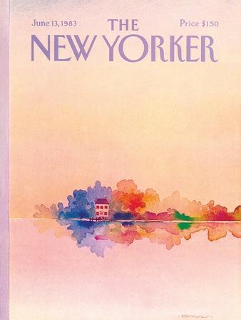 The New Yorker Cover - June 13, 1983