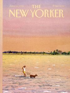 The New Yorker Cover - June 16, 1986 by Susan Davis