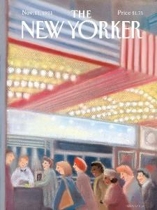 The New Yorker Cover - November 11, 1991 by Susan Davis