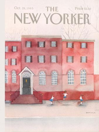 The New Yorker Cover - October 28, 1985