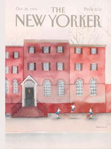The New Yorker Cover - October 28, 1985 by Susan Davis