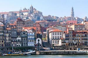 Porto, Portugal from the Douro River by Susan Degginger
