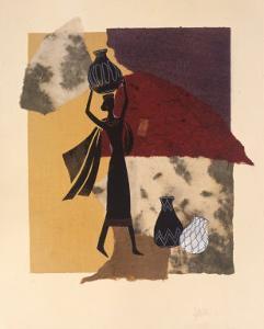Africa, no. 2 by Susan Gillette