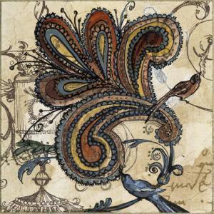 Bird of Paisley II by Susan Gillette