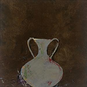 Brown Vase by Susan Gillette