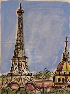 Eiffel Tower by Susan Gillette