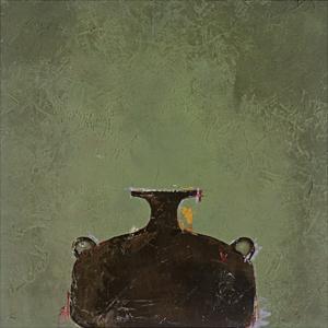 Green Vase by Susan Gillette