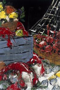 Ocean Harvest I by Susan Gillette