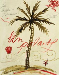 Palmier Vivant I by Susan Gillette