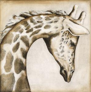 Serengetti Giraffe by Susan Hartenhoff
