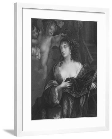 Susan, Lady Bellasys--Framed Giclee Print