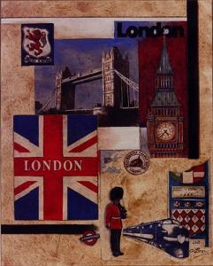 London Collage by Susan Osborne