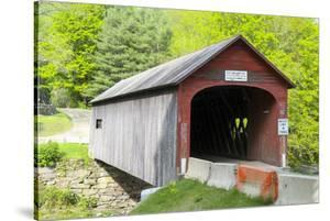 Green River Bridge, Green River, Guilford, Vermont by Susan Pease