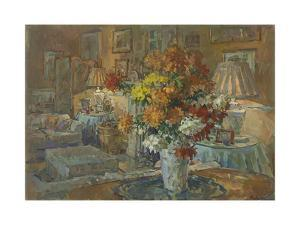 Chrysanthemums from Roddam by Susan Ryder