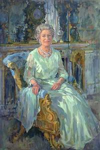 Her Majesty the Queen, 1996 by Susan Ryder