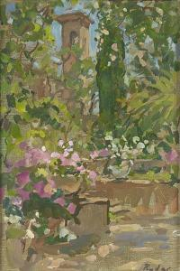 Rose Arch, Languedoc by Susan Ryder