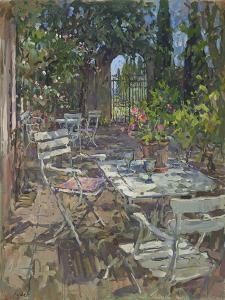 Terrace, Mas De La Rose by Susan Ryder