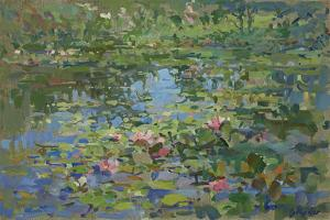 Waterlilies by Susan Ryder