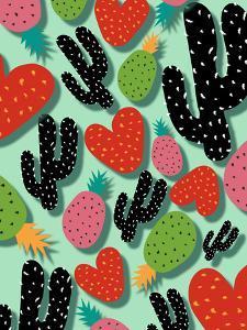 Cactus Love & Pineapples by Susana Paz