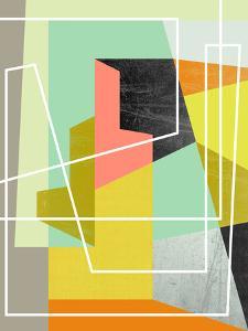 Colorblock Ii by Susana Paz