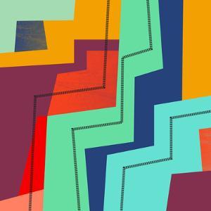 Colorblock Iv by Susana Paz