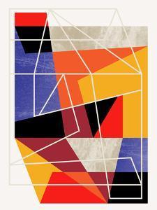 Colorblock Vii by Susana Paz