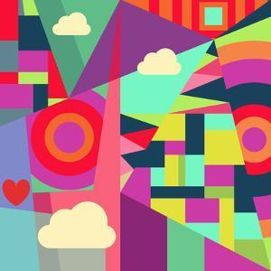 Geometric 7 by Susana Paz