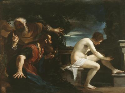 Susanna and the Elders, 1617-Guercino (Giovanni Francesco Barbieri)-Giclee Print