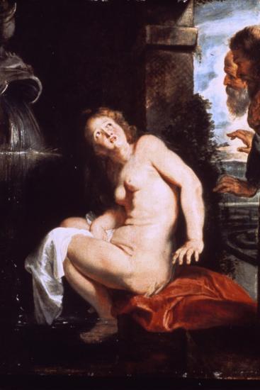 Susanna and the Elders, C1614-Peter Paul Rubens-Giclee Print