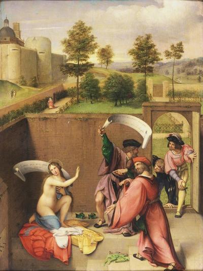 Susanna and the Elders-Lorenzo Lotto-Giclee Print
