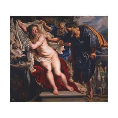 Susanna and the Elders-Peter Paul Rubens-Giclee Print