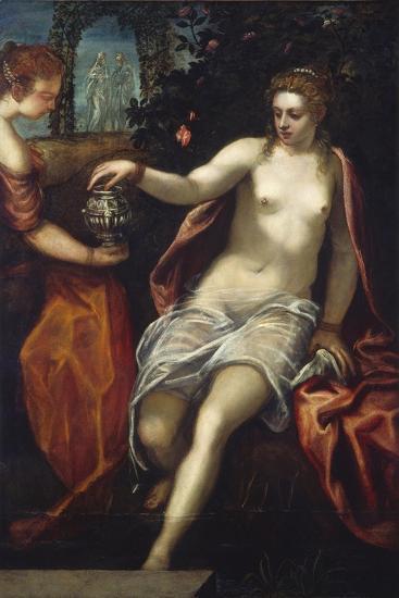 Susanna, C.1575-Jacopo Robusti Tintoretto-Giclee Print