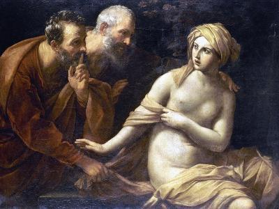 Susannah And Elders-Guido Reni-Giclee Print