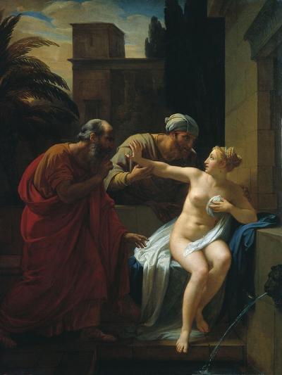 Susannah and the Elders, 1822-Pyotr Vasilyevich Basin-Giclee Print
