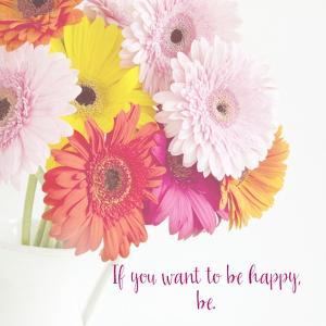 Be Happy by Susannah Tucker