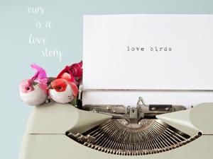Love Story Love Birds by Susannah Tucker