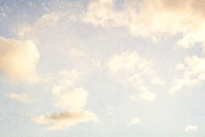 Pale Blue Sky And Clouds 5