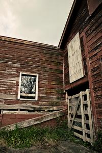 Rustic Red Barn Walls by Susannah Tucker