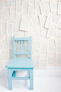 Small Blue Chair by Susannah Tucker