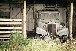 The Old Car in the Barn 2 by Susannah Tucker