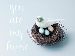 You are My Home Love Birds by Susannah Tucker