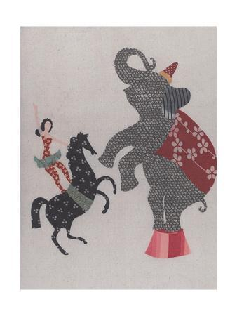 The Circus; the Elephant, Pony and the Acrobat