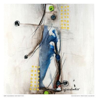 Suspecté (Détail 2)-Sylvie Cloutier-Art Print