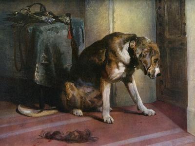 Suspense, 19th Century-Edwin Henry Landseer-Giclee Print