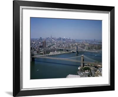 Suspense on the East River-Carol Highsmith-Framed Photo