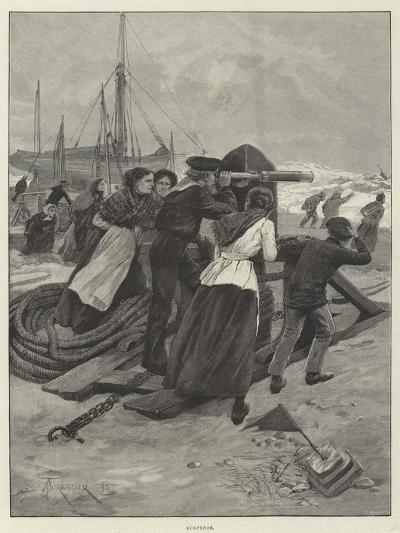 Suspense-Amedee Forestier-Giclee Print