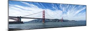 Suspension Bridge over Pacific Ocean, Golden Gate Bridge, San Francisco Bay, San Francisco